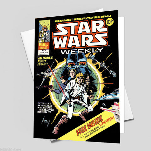 STAR WARS Comic Cover 1st Edition (RARE) Reproduction Vintage Wall Art Print #12