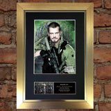 SUICIDE SQUAD Rick Flag Signed Autograph Mounted Photo Repro Print 623