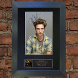 ROBERT PATTINSON NEW MOON Mounted Signed Photo Reproduction Autograph Print 27