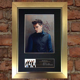 JOSH CUTHBERT Union J Autograph Mounted Photo Reproduction PRINT A4 408