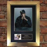JAY Z Mounted Signed Photo Reproduction Autograph Print A4 87
