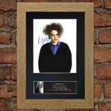 ROBERT SMITH The Cure Quality Autograph Mounted Signed Photo Repro Print A4 708