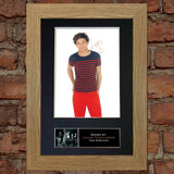 LOUIS TOMLINSON No2 Autograph Mounted Signed Photo Reproduction Print A4 390
