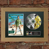 BREAKING BAD DVD Mounted Signed Photo Reproduction Autograph Print A4 67