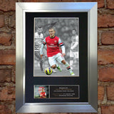 JACK WILSHERE Signed Mounted Photo Reproduction Autograph A4 387
