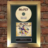 MCFLY Memory Lane Album Signed CD COVER MOUNTED A4 Autograph Print 18