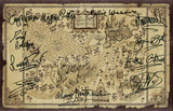 Harry Potter Wizarding World Map Quality Autograph Signed Re Print Poster 742