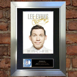 LEE EVANS Autograph Mounted Signed Photo Reproduction Print A4 100