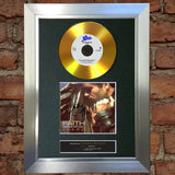 #106 GOLD DISC GEORGE MICHAEL Faith Album Signed Autograph Mounted Repro A4