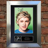 NIALL HORAN No2 Mounted Signed Photo Reproduction Autograph Print A4 316