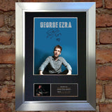 GEORGE EZRA Signed Autograph Mounted Photo Repro A4 Print 549