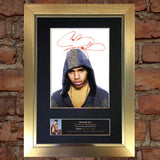 CHRIS BROWN Mounted Signed Photo Reproduction Autograph Print A4 96