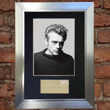 JAMES DEAN Signed Autograph Mounted FAN CLUB Photo Reproduction PRINT A4 615