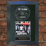 ONE DIRECTION 1D Midnight Memories Signed CD COVER MOUNTED A4 Autograph Print 53