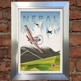 NEPAL VINTAGE RETRO TRAVEL Poster Nostalgic Home Print Wall Decor #57