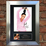 "KATIE PRICE ""JORDAN"" Mounted Signed Photo Reproduction Autograph Print A4 217"