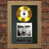 #138 GOLD DISC PHIL COLLINS In the air Tonight Signed Autograph Mounted Repro A4