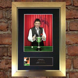 JIMMY WHITE Snooker Signed Quality Autograph Mounted Photo Repro A4 Print 489