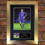 JAMIE VARDY Leicester City Signed Autograph Mounted Photo Repro A4 Print 610
