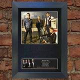 WESTLIFE Mounted Signed Photo Reproduction Autograph Print A4 188