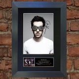 CALVIN HARRIS Mounted Signed Photo Reproduction Autograph Print A4 306