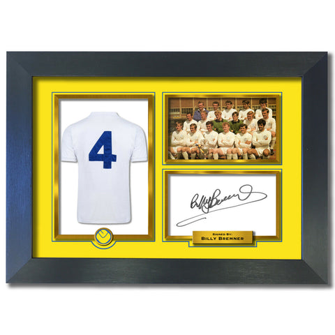 Billy Bremner Leeds Utd Autograph Signed Photo Birthday Christmas Gift Print 797