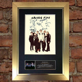 ARCADE FIRE Signed Autograph Mounted Photo REPRODUCTION PRINT A4 410