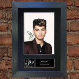 ZAYN MALIK Mounted Signed Photo Reproduction Autograph Print A4 317