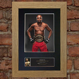 ANDERSON SILVA Martial Arts Quality Autograph Mounted Photo Repro Print A4 569