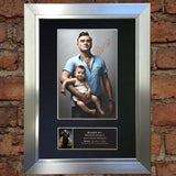 MORRISSEY Mounted Signed Photo Reproduction Autograph Print A4 164