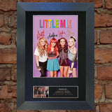 LITTLE MIX No1 Autograph Mounted Signed Photo Reproduction Print A4 145