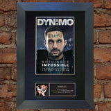 DYNAMO Signed Mounted Photo Reproduction Autograph QUALITY PRINT A4 388