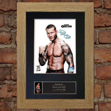 RANDY ORTON WWE Signed Autograph Mounted Photo Repro A4 Print 423