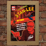 STAN LEE Memorial Limited RARE Comic Poster Original Design Quality Print 771