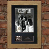 LED ZEPPELIN #2 RARE Signed Autograph Mounted Photo Repro A4 Print 512