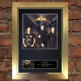 THE SCRIPT Mounted Signed Photo Reproduction Autograph Print A4 113