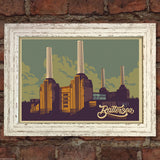 BATTERSEA POWER STATION RETRO TRAVEL Poster Home Art Print Wall Decor #22