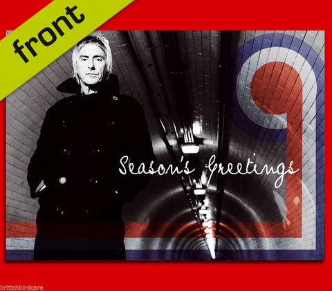 PAUL WELLER Jam Autograph Signed Christmas Card Print INCLUDES ENVELOPE A5 Size