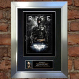 CHRISTIAN BALE BATMAN SIGNED AUTOGRAPH MOUNTED PHOTO REPRODUCTION PRINT A4 105