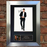 ROBIN THICKE Autograph Mounted Signed Photo Reproduction Print A4 393