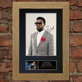 KANYE WEST Mounted Signed Photo Reproduction Autograph Print A4 170