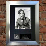 NORMAN WISDOM Autograph Mounted Signed Photo Reproduction Print A4 29