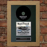 BASTILLE All This Bad Blood Album Signed CD COVER MOUNTED A4 Autograph Print 31