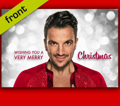 PETER ANDRE Autograph Christmas Card Reproduction