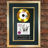 #79 GOLD DISC STATUS QUO Aquostic Signed Autograph Mounted Photo Repro A4