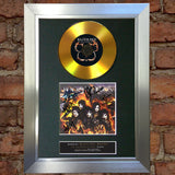#103 GOLD DISC BLACK VEIL BRIDES World on Fire Signed Autograph Mounted Repro A4