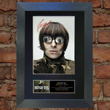 BEADY EYE liam gallagher Mounted Signed Photo Reproduction Autograph Print 156