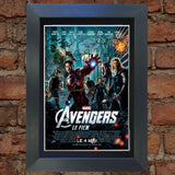THE AVENGERS Mounted Signed Photo Reproduction Autograph Print A4 263