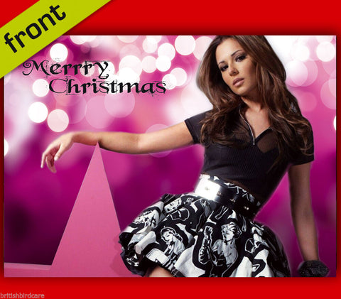 CHERYL COLE Autograph Signed Christmas Card Print INCLUDES ENVELOPE A5 Size