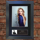 KATE MOSS Model Signed Autograph Quality Mounted Photo Repro A4 Print 517